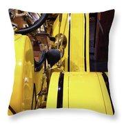 Yellow Classic Throw Pillow