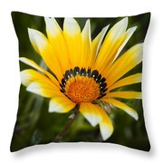 Yellow Fellow Throw Pillow by Kelley King