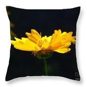 Yellow Flowers2 Throw Pillow