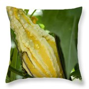 Yellow Gord Throw Pillow