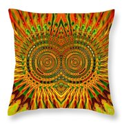Yellow Is Not Black Throw Pillow