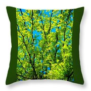 Yellow ... Throw Pillow