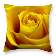Yellow Tea Throw Pillow