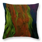 Yellow Two Throw Pillow