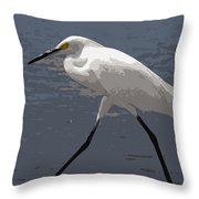 Yellowfeet Throw Pillow