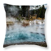 Yellowstone Colors #2 Throw Pillow