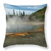 Yellowstone Colors #5 Throw Pillow
