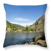 Yellowstone Serenity   Throw Pillow