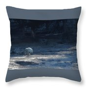Yellowstone White Lady Unsigned Throw Pillow