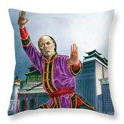 Yen Song Throw Pillow