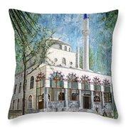 Yeni Cami, Fethiye Throw Pillow
