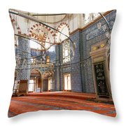 Yeni Cami Mosque Throw Pillow