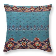 Yeni Mosque Prayer Carpet  Throw Pillow