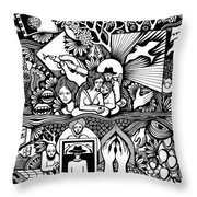 Yes It's Me I Myself What Turned Out To Be Throw Pillow
