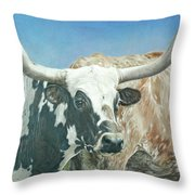 Yes, This Is Texas Throw Pillow