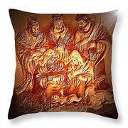 Yeshu'a  Throw Pillow