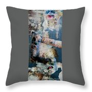 Yesterday And Today Panel 1 Throw Pillow