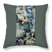 Yesterday And Today Panel 2 Throw Pillow