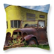 Yesterday Once More Throw Pillow