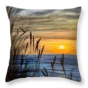 Yet Another Sunset Throw Pillow