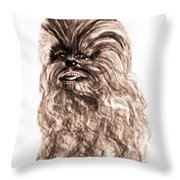 Yeti Has The Final Word Throw Pillow