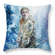 Ygritte The Wilding Throw Pillow