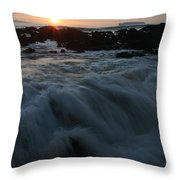 Yielding Throw Pillow