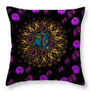 Yin And Yang Collage Throw Pillow