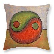Yin - Yang Throw Pillow