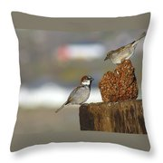 Yippie Throw Pillow