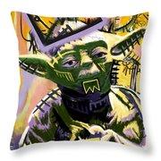 Yoda 1981 Throw Pillow
