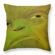 Yoda Selfie Throw Pillow