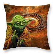 Yoda-no Fear Throw Pillow