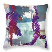 Yoga Vi Throw Pillow