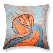 Yogaic - Tile Throw Pillow