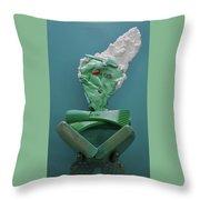 Yogi Levitation Throw Pillow