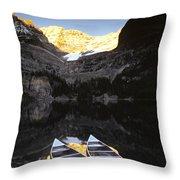 Yoho National Park, Lake Ohara, British Throw Pillow by Ron Watts