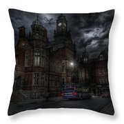 York And Selby Magistrates Court Throw Pillow