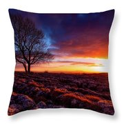 Yorkshire Beauty Throw Pillow