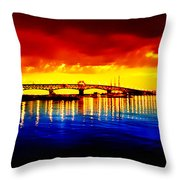 Yorktown Virgina Throw Pillow