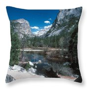 Yosemite #1 Throw Pillow