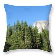 Yosemite Domes Throw Pillow