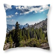 Yosemite Half Dome 0796 Throw Pillow