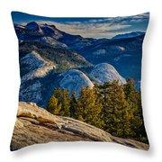 Yosemite Morning Throw Pillow