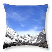 Yosemite Park Throw Pillow