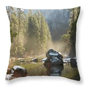 Yosemite Spring Throw Pillow