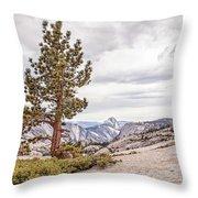 Yosemite Tree Throw Pillow