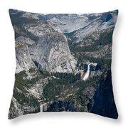 Yosemite Washburn Point Throw Pillow