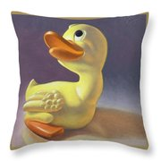Yoshi's Ducky Debut Throw Pillow