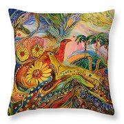 Yotvata Village Throw Pillow